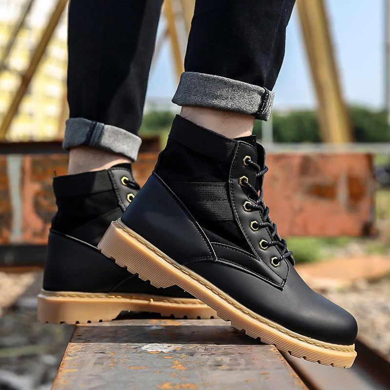 Erkekler Çöl Taktik Askeri Botlar Mens Iş Güvenliği Ayakkabıları Ordu Savaş Botları Militares Tacticos Zapatos erkek ayakkabısı Botas Kadın