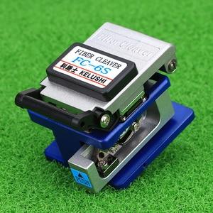 Image 4 - KELUSHI 13 Pcs/Set FTTH Fiber Optic Tools Kit with FC 6S Cleaver and Plastic 5mW Visual Fault Locator Wire Stripper Tool