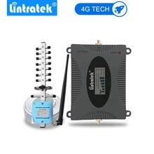 Amplificador de señal Lintratek 4G (Banda 3) LTE 1800mhz teléfono celular 4G antena amplificadora GSM DCS 1800 repetidor de teléfono móvil juego completo.