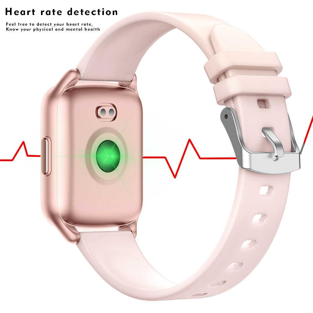 LIGE جديد مقاوم للماء الرياضة للنساء آيفون ساعة ذكية مراقب معدل ضربات القلب ضغط الدم جهاز تعقب للياقة البدنية الرجال امرأة smartwatch
