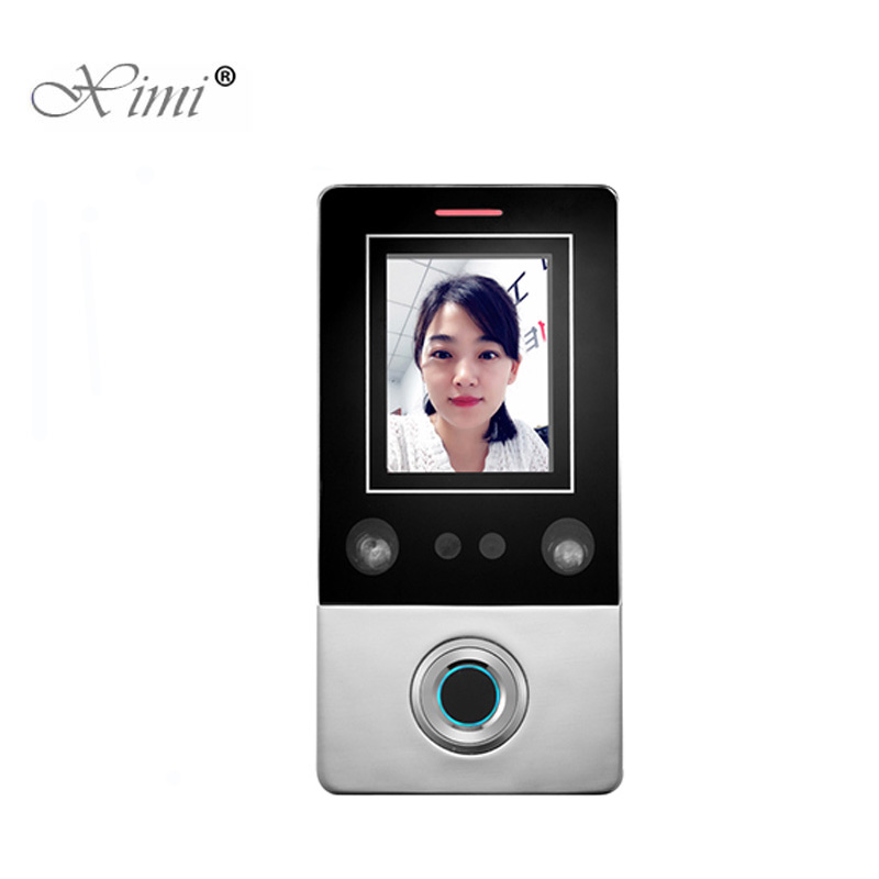 New Standalone Face Door Access Control System With Fingerprint Reader And 125KHZ RFID Card Reader