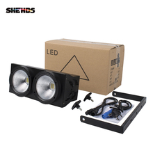 2 Eyes 200w LED Cool ,Warm White COB DMX512 light Stage lighting Led For Bar KTV Wedding DJ Disco Effect Light SHEHDS