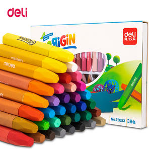 Deli Drawing Crayons-Pen Oil-Pastel Artist Paintingset-Colors Kids School Creative