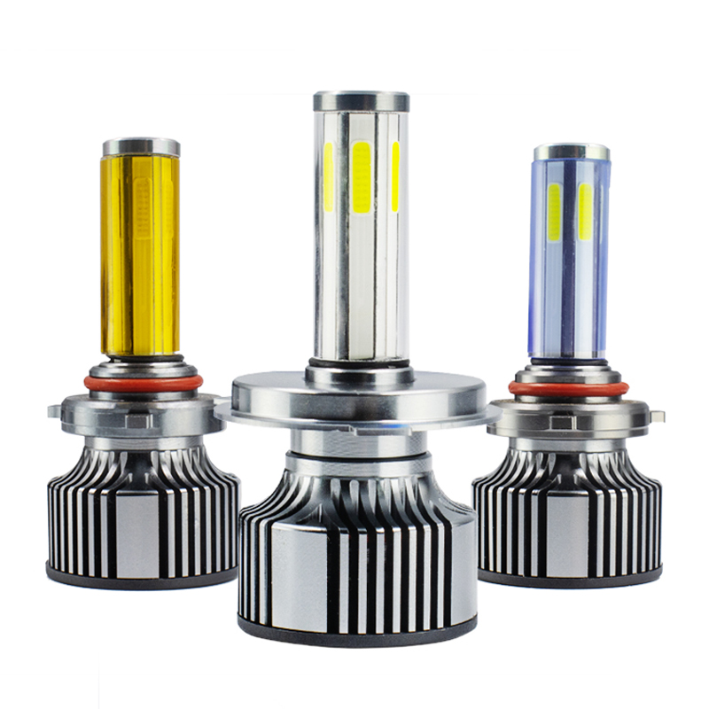 New 6Sides 16000LM <font><b>LED</b></font> H7 Headlights Bulbs <font><b>360</b></font> H1 <font><b>LED</b></font> H11 H8 <font><b>H9</b></font> 9005 9006 3000K 6000K 8000K Auto Lamp Turbo H7 <font><b>LED</b></font> Light Cars image