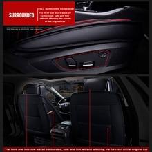 2020 New Custom Leather Four Seasons For Nissan Qashqai Note juke tiida x-trail Car Seat Cover Cushion