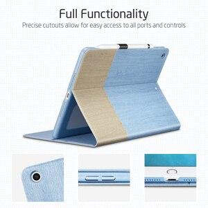 Image 3 - Чехол для iPad ESR с одним открытым типом, подставка с разными углами и держателем для карандашей для iPad 10,2 дюйма (7 е поколение)