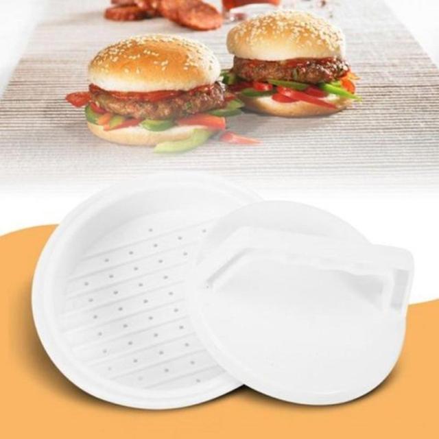 Hamburger presse à viande en peluche Burger Maker moule viande Grill Patty BBQ Burger Maker moule manuel alimentaire outil cuisine travail économiseur outil