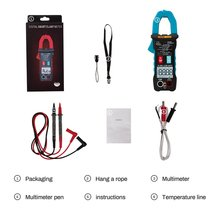 ANENG 4000 Counts AUTO Digital Clamp Meter DC/AC Current Voltage Clamp Analog Multimeter True RMS ST205 Ohm Temp NCV Test oled display true rms inrush digital clamp meter 6000 counts ac dc v a capacitance ohm freq temp vfc ncv flashlight uni t ut216d