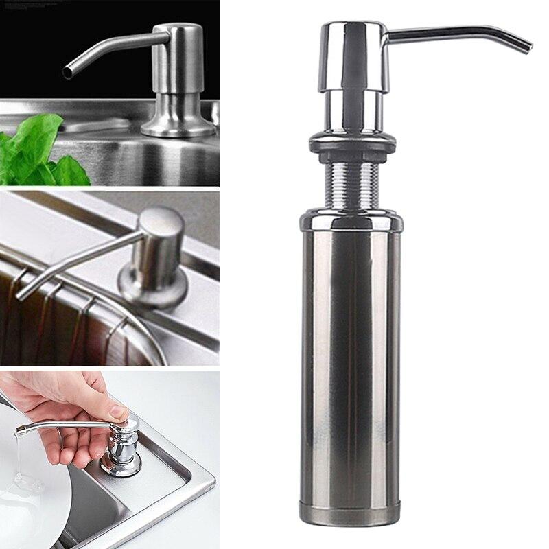 Hot 300ML Countertop Liquid Hand Pump Replacement Kitchen Sink Soap Dispenser Dispenser For Liquid Soap Dispensador Jabon I88 #1
