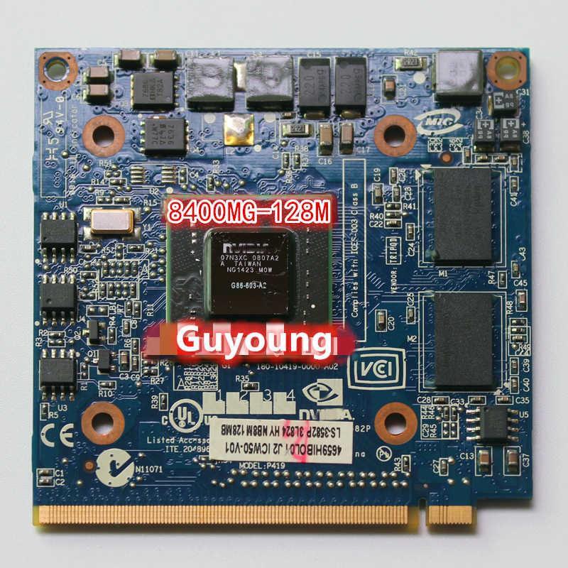 ل غيفورسي 8400M GS 8400MGS DDR2 128MB الرسومات بطاقة فيديو لشركة أيسر أسباير 5920G 5520 5520G 4520 7520G 7520 7720G