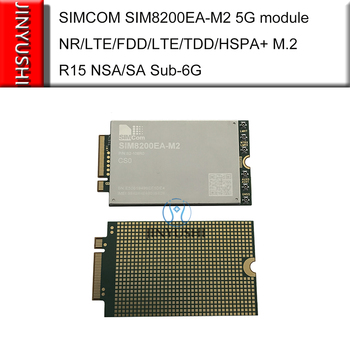 Available! SIMCOM SIM8200EA‐M2 5G module NR/LTE‐FDD/LTE‐TDD/HSPA+ M.2 R15 NSA/SA Sub‐6G faster than SIM7600E SIM7500 EM20-G EC25