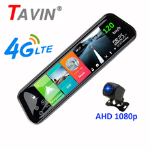 4G Android 8.1DVR Dash cam 10 inch touch screen Rearview Mir