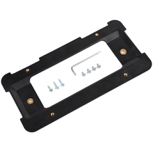 Задний бампер Кронштейн номерного знака рамка держателя бирка держатель основания с винтами и ключ, дюймовый стандарт совместимый пульт дистанционного управления для Bmw 1/2/3/4/5 серии X5 X6 328