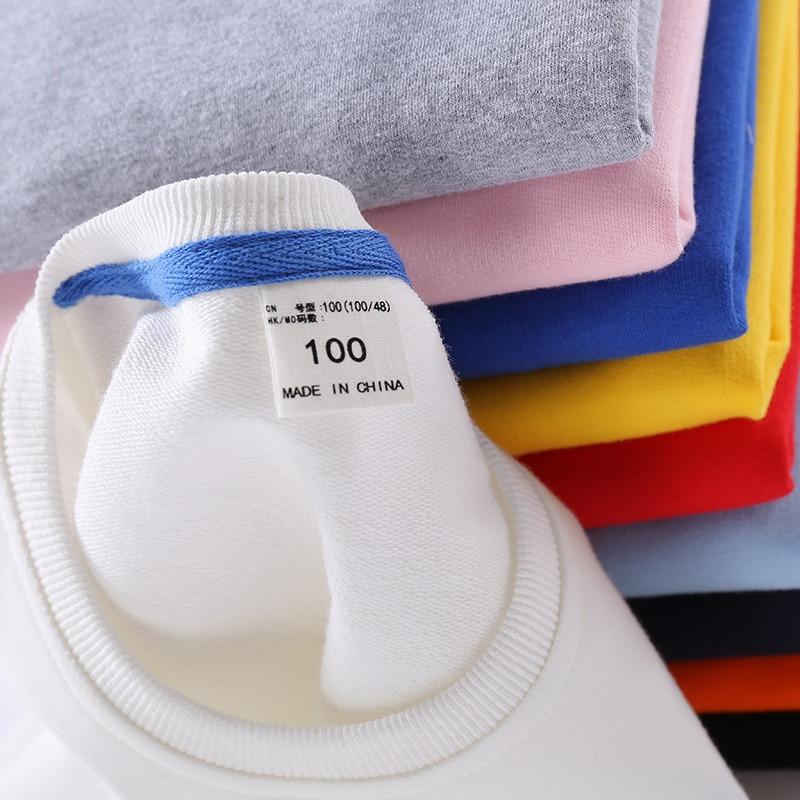 Baby girl clothes autumn costume for children 100% cotton cartoon children's suit tracksuit for children kids clothes boy suit 4