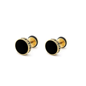 1 Pair Gold Color