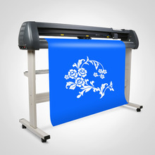 "Cutting Plotter 53"" Vinyl Cutter Sign Cutting Plotter W/Artcut Pro Software Design Cut 3 Blades"