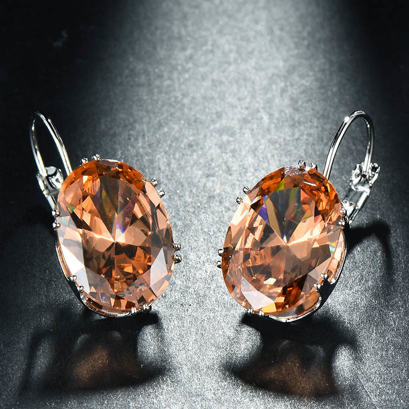 Hb59f75a576634f3ca72314285da02c21M - Cellacity Korean 925 silver Earrings with oval citrine gemstone  Engagement Earrings Drop Earrings For Women Jewelry wholesale
