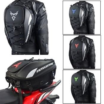 Men's Motorcycle Backpack Waterproof Motorcycle Backpack Travel Luggage Bag Motorbike Bags Tank Bag