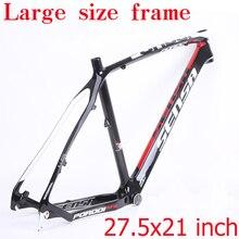 SENSA T800 carbone vtt cadre de vélo 27.5er vtt cadre en carbone 27.5x21 pouces cadre de VTT en carbone 135*9mm cadre de vélo