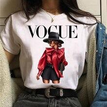 New Fashion Summer T-shirt Harajuku Women T Shirt Vogue T-shirt Graphic Tee Cute Women T-shirt Female Tee Shirt Girls Tshirt Top