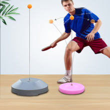 Equipment-Accessories Robot Ping-Pong-Balls Table-Tennis-Trainer Rebound-Shaft Springback