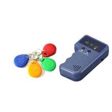 125 кГц RFID Копир писатель Дубликатор Программист считыватель+ 5 шт. EM4305/T5577/CET5200 перезаписываемые ID брелки метки карты 5200 ручной работы