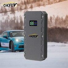 GKFLY urządzenie do uruchamiania awaryjnego samochodu 12V Booster bateria 2000A awaryjne urządzenie rozruchowe kable wielofunkcyjny Power Bank Buster