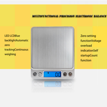 New 500/0.01g 3000g/0.1g lcd portable mini electronic digital scales pocket case postal kitchen jewelry weight balance scale