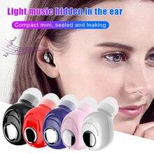 Беспроводная Bluetooth 5,0 гарнитура CVC8.0 Цифровое шумоподавление водонепроницаемый и анти-пот в уши скрытые беруши ND998