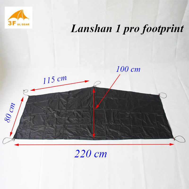 Lanshan 1/Lanshan 1 pro orijinal ayak izi 15d silnylon zemin sayfası