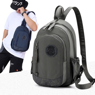 2019 men mini Waterproof Laptop Backpack NO Key Anti Theft Men Backpacks Travel Teenage Backpack bag male bagpack mochila image
