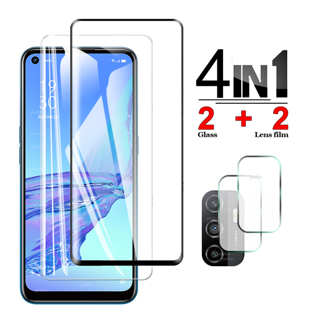 Protective Glass for OPPO A53s Screen Protector Tempered Camera Lens Safety Glass for OPPO A53s A53 S 5g PECM30 PECT30 CPH2139 1