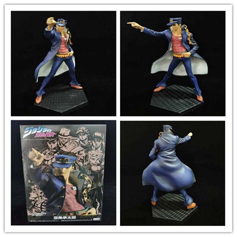 Anime JoJo/'s Bizarre Adventure Kujo Jotaro PVC Figure Statue Toy Collection New