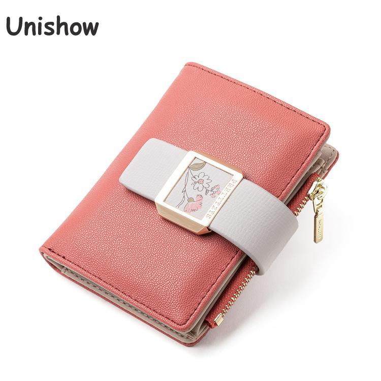 Fashion Small Women Wallet Clear Ladies Purse Coin Pocket Brand Designer Female Wallet Young Girl Purse Women Card Holders