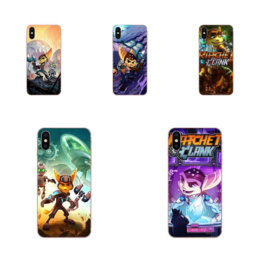 Game Ratchet And Clank For Huawei P7 P8 P9 P10 P20 P30 Lite Mini Plus Pro Y9 Prime P Smart Z 2018 2019 Soft Cases Capa Cover image