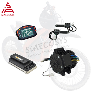 Image 1 - QSMOTOR 138 70H V2 72V 100KPH 6KW Continous 10KW Peak Chain Mid Drive Motor Powertrain Kits for Electric Dirt Bike