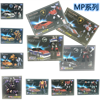 TAKARA TOMY IN BOX KO TKR Transformation Figure Masterpiece Action Figure Chart Out of Print Rare MP-13 MP-14 MP-15 MP-16 MP-17 [show z store] 4th party mp36 mightron mp 36 masterpiece new in box transformation action figure