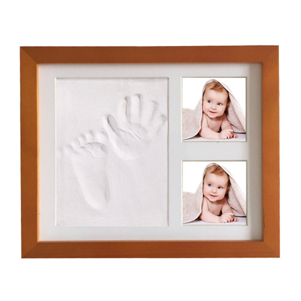 Footprint Baby Non-toxic Handprint Kit Infant Souvenirs Imprint Casting Gifts