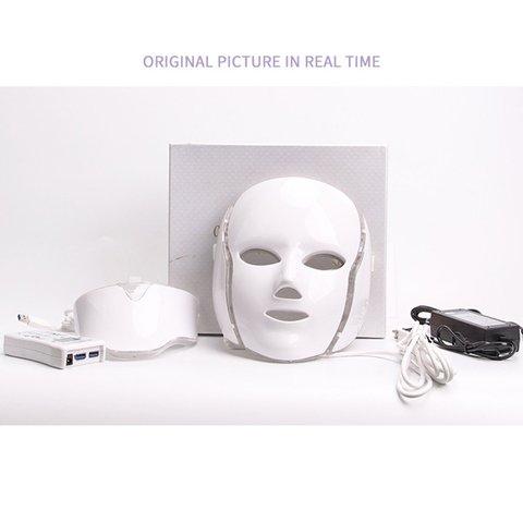 Beleza f ton led m scara facial terapia 7 cores luz cuidados com a pele
