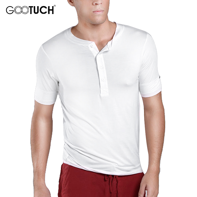 Mens Plus Size Underwear Undershirts For Male Short Sleeve Solid Color T Shirt Close-fitting V-neck Comfortable Undershirts 5029