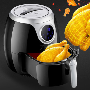 220V/8L Home Air Fryer No Oil Degreasing High Capacity Commercial Kitchen Electric Fryer Intelligent French Fries Machine 1800W air frying pan new special price large capacity intelligent oil smoke free fries machine automatic electric frying pan 220v 3l