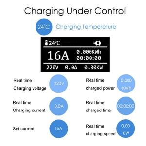 Image 5 - EV Chargerประเภท 2 Iec62196 ประเภท 1 EVSE EVสายชาร์จ 16A EU Plugสำหรับยานพาหนะไฟฟ้า