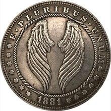 Moneda Hobo de ala de Ángel, regalo de recuerdo