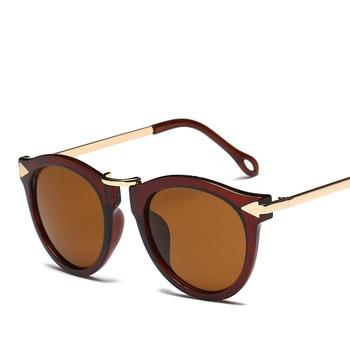 XaYbZc Cat Eye Sunglasses Women Luxury Brand Arrow Sun Glasses Vintage Shades For Woman Sunglass Ladies Flowers Sunglases 10