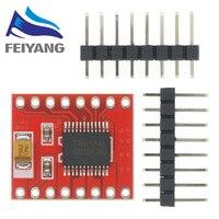 1 Uds controlador de Motor Dual 1A TB6612FNG para microcontrolador Arduino mejor que L298N