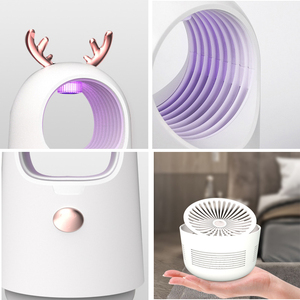 Image 5 - 2020 חדש USB יתושים רוצח מנורת אלקטרוני המקורה דוחה רוצח אנטי חרקים רוצח באג Zapper מלכודת UV אור מנורה