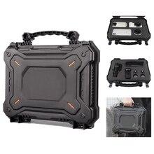 IPX7 водонепроницаемый военный кобура Пистолет коробка защитный чехол камера сумка Прочный Пенопласт водонепроницаемый жесткий корпус