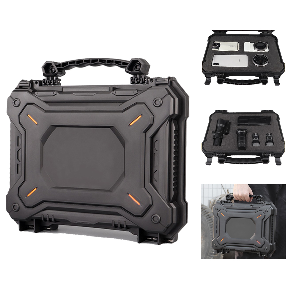IPX7 Waterproof Military Holster Gun Box Protective Case Camera Bag Durable Box Foam Watertight Hard Shell