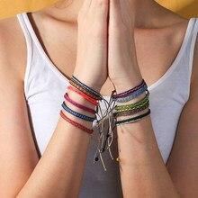 KELITCH – Bracelets Boho faits à la main pour hommes et femmes, bijoux ethniques à la mode, breloques en pierre naturelle