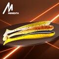 MEREDITH Easy Shiner 50 мм 75 мм 100 мм 130 мм джиг Swimbait искусственная двухцветная Мягкая силиконовая приманка для ловли карпа